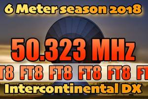 FT8 new QRG for intercontinental QSO